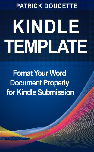 Kindle Template English Edition Ebook Patrick Doucette Amazon Fr