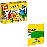LEGO Creator 2-teiliges Set 10693 10700 Baustein-Ergänzungsset + Grundplatte Grün