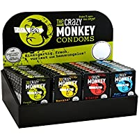 The Crazy Monkey Condoms, 32 x 3er Packungen preisvergleich bei billige-tabletten.eu