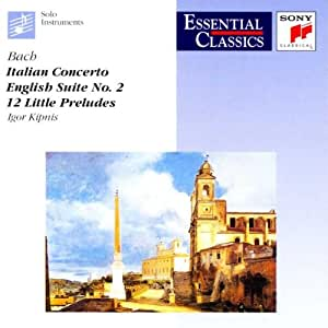 Italian Concerto;English Suite N 2;12 Little Preludes