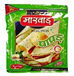 Marwar Papad Moong Dal Special (Handmade, Medium Spicy & Rajasthani Flavor) Special 400gm Zipper pack