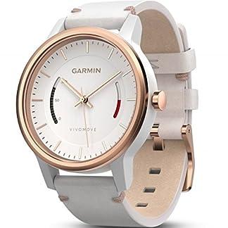 Garmin Vivomove Classic -Monitor de Actividad con Correa de Cuero