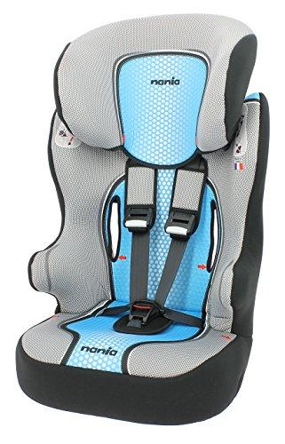 Preisvergleich Produktbild Osann Kinderautositz Racer SP Pop Blue blau grau, 9 bis 36 kg, ECE Gruppe 1 / 2 / 3, von ca. 9 Monate bis 12 Jahre, mitwachsende Kopfstütze