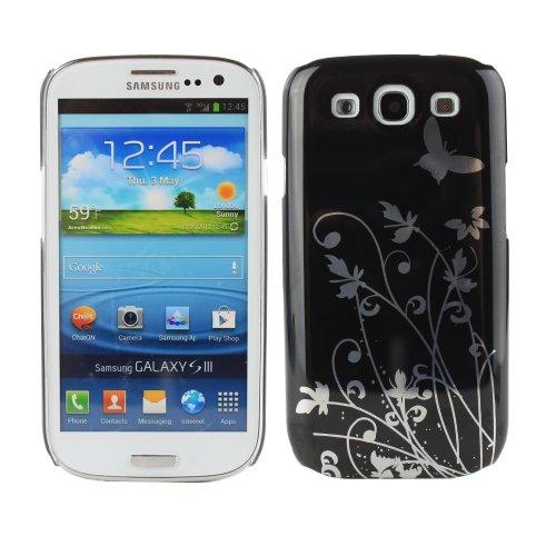 Fosmon Hard Case Samsung Galaxy S III i9300 / ATT SGH-i747 / Verizon SGH-i535 / T-mobile SGH-T999 / Sprint SPH-L710 - Butterfly (S Galaxy 3 Phone Sprint)