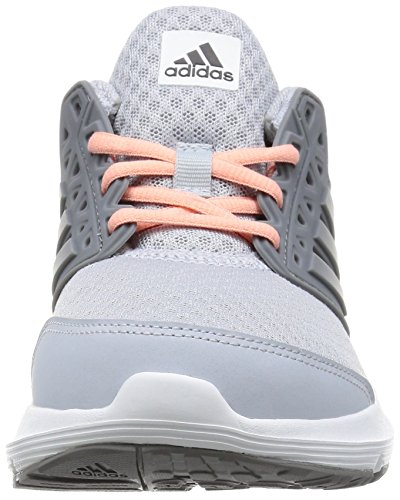 adidas  Galaxy 3 W, Chaussures de Football américain femme Rouge (Gritra/gris/suabri)