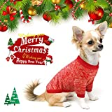 Idepet - Maglione/cappottino caldo in pile per cani, gatti, animali domestici, S, M, L, rosa e grigio (S, rosa)