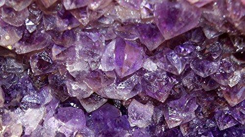 Heilsteine, Edelsteine, Wassersteine, Trommelsteine, und auch Ladesteine hier: Amethyst, 400g, abgepackt