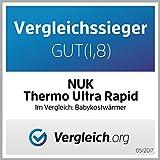 NUK – Babykostwärmer, Thermo Ultra Rapid, erwärmt Babynahrung schonend ab 2 Minuten, inklusive Auto-Adapterkabel für unterwegs - 2