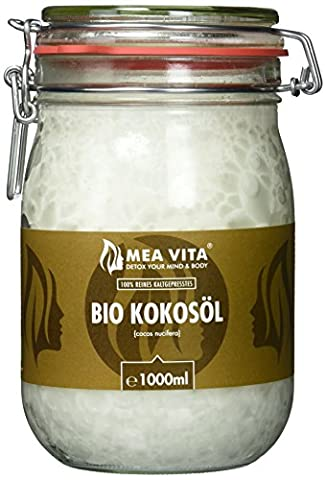 MeaVita Bio Kokosöl, nativ, 1er Pack (1 x 1000 ml)