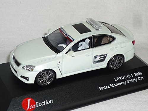 lexus-isf-is-f-2009-weiss-rolex-monterey-safety-car-1-43-j-collection-modell-auto-modellauto