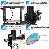 [Creality 3D Tienda directa] impresora 3D Ender 3, Aluminum Prusa i3 DIY Impresora 3D Ensamblada con Extruder y recuperar una impresión tras un corte de energía, 220 * 220 * 250 mm Tamaño de impression