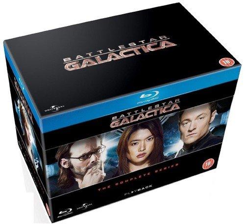[UK-Import] Battlestar Galactica The Complete Series (Season 1-4 + Razor + Miniseries) [Blu-Ray]