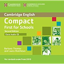 Compact First for Schools Class Audio CD (Cambridge English)