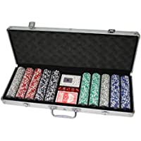 huangguan mh161144–Set de Poker professionnel Noir
