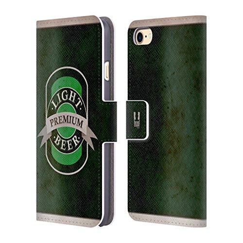 Head Case Designs Root Beer Blechdose Handy Hülle Brieftasche Handyhülle aus Leder für Apple iPhone 6 / 6s D Bier