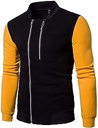 Homebaby Felpe con Cappuccio da Uomo Classico Manica Lunga Pullover  Maglione Camicia Sportivo Maglia Invernale Giacca 14ea1afd726
