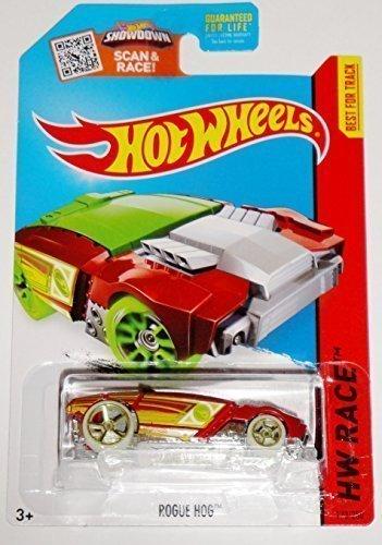 Race, Rogue Hog Treasure Hunt [Red] Die-Cast Vehicle #173/250 by Hot Wheels ()