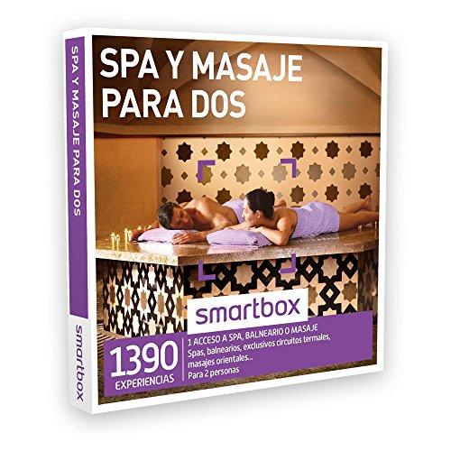 SMARTBOX – Caja Regalo – SPA Y MASAJE PARA DOS – 1390 experiencias como spas, balnearios, circuitos termales, masajes orientales…