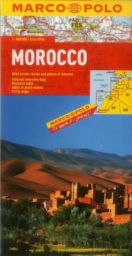 Morocco Map (Marco Polo Maps) por Marco Polo