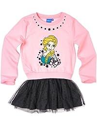 Disney El reino del hielo Chicas Vestido - Rosa