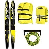 """Base Sports Vapor Package 67"""" Yellow Wasserski Wasserläufer Paarski Ski"""