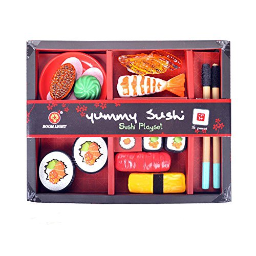 Kinder Lernspielzeug, ALIKEEY 13PCS Küche Sushi Pretend Play Kinder Toddle Kid Bildung Spielzeug Geschenk FÜR MÄDCHEN Jungen FÜR MÄDCHEN Jungen