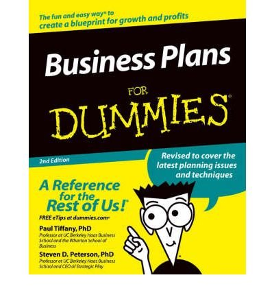 (Business Plans for Dummies) By Tiffany, Paul (Author) Paperback on (12 , 2004)