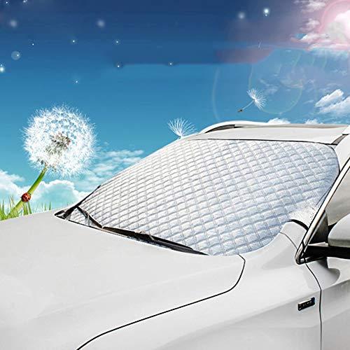 FDSEA Auto Windschutzscheibe Sonnenblende - Blockieren Sie die UV-Sonnenblende mit Sonnenblende,Die Sonnenblende hält Ihr Fahrzeug kühl und einfach zu bedienen