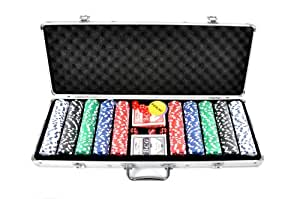 unbekannt fa sports pokerkoffer casino ocean 500 poker chip set silber 58 x 24 x 7 5 cm 910. Black Bedroom Furniture Sets. Home Design Ideas