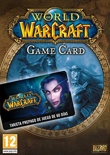 World Of Warcraft Tarjeta De Prepago 60 Dias Card Codigo Battle Net Para Pc