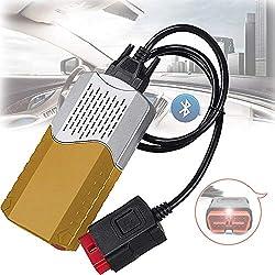 Bluetooth Auto LKW Fehlerdiagnose Instrument,150E TCS CDP OBD2 Mit Bluetooth-Auto-LKW-Fehlerdiagnoseinstrument 2016.1,F/üR PKW Und LKW