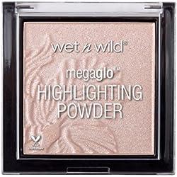 Wet n Wild - MegaGlo Highlighting Powder - samtweiches und hochpigmentiertes, Blossom Glow, 1 Stk. 5,4g