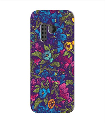 Kaira High Quality Printed Designer Soft Silicon Back Case Cover For Nokia 215 (leaves)  available at amazon for Rs.199