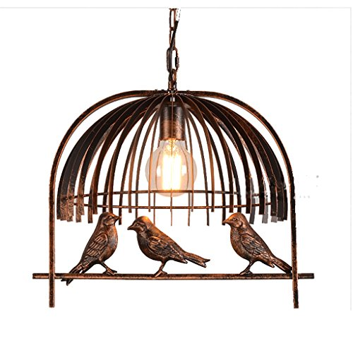 American Village Light Retro Eisen Kunst Industrial Bird Kronleuchter Studie Cafe Bar Bars Einzelne Balkon Lampe