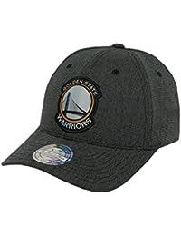 Mitchell   Ness Uomo Cappellini Snapback Cap Stretch Melange 110 Golden  State Warriors grigio Adjustable 650a83d52142