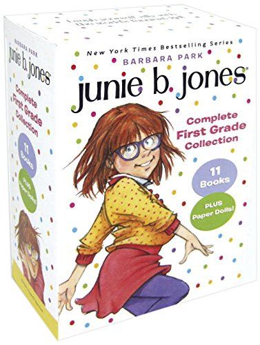 Junie B. Jones Complete First Grade Collection: Books 18-28 with paper dolls in boxed set by Barbara Park,Denise Brunkus