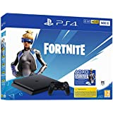 PS4 Console 500GB F Chassis Slim Black + Fortnite Vch (2019) - Special - PlayStation 4