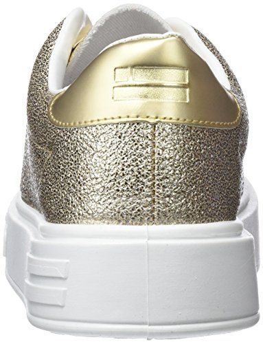 D. Franklin Damen Gumme Gemstone Sneakers Gold (Oro)