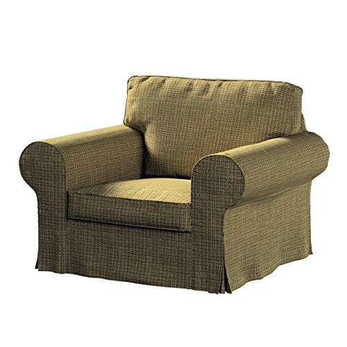 Dekoria Ektorp Sesselbezug Sofahusse passend für IKEA Modell Ektorp erbsengrün