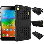 SDO presents the latest Rugged Dual Layer Kickstand Hybrid Warrior Case Back Cover for Micromax YU Yuphoria (Black/White). Military inspired, the outer polycarbonate layer features a rugged grenade molded design, delivering a surplus of protection. T...