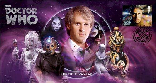 Dr Doctor Who BBC Offizielle 50th Anniversary Limited Edition Nicola Bryant Unterzeichnet Ersttagsbrief - die fünfte Doktor - Peter Davison -