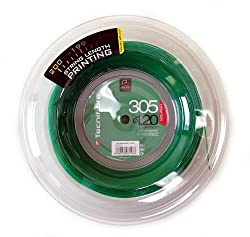 The Tecnifibre 305 Premium Green squash string is the award winning number one selling Tecnifibre squash string, and is used by many professionals on tour including Ramy Ashour and Alastair Walker. This 200m reel set is the equivalent of 20 - 50% sav...