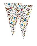 Verbetena - Bolsa cono gigante Sweet Party, 30x60 cm, pack 100 unidades (011500076)