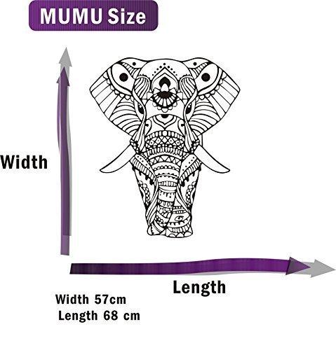 Romote Nuevo diseño Pegatinas de Pared Mandala de la Yoga Adorno Dios Buda Elefante Indio Pared de la Calidad Adhesivos de decoración del hogar murales