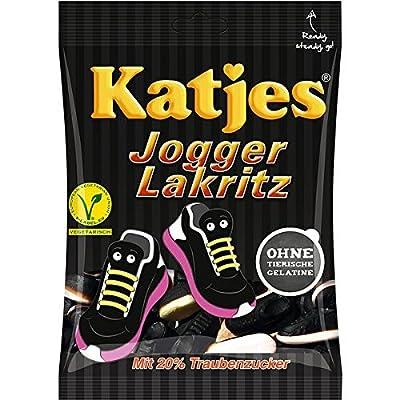 Katjes Jogger Lakritz, 10er Pack (10 x 200 g)