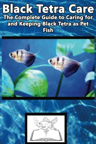 Black Tetra Care: The Complete Guide to Caring for and Keeping Black Tetra as Pet Fish (Black Skirt Tetra, Petticoat Tetra, High-finn Black Skirt Tetra, Black Widow Tetra) (Best Fish Care Practices) (Widow Black Fisch)