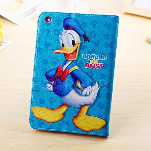 Samsung Galaxy Tab 48.0(8pollici) Cute bambini Disney Frozen Principessa Supporto a portafoglio Flip Cover per Samsung Galaxy Tab 48.0SM-T330Tablet PC serie) Donald Duck