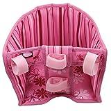 Götz 3401927 Blümchen Fahrradsitz - Puppenzubehör für alle Puppen von 27 cm bis 50 cm egal ob Babypuppe oder Stehpuppe
