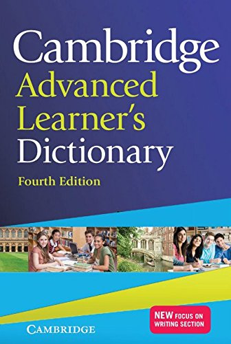 Cambridge Advanced Learners Dictionary, 4 Ed. (PB + CD-ROM)