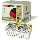 Kit 10 XL TONER EXPERTE® Cartucce d'inchiostro compatibili con Epson 16XL Workforce WF-2010W, WF-2510WF, WF-2520NF, WF-2530WF, WF-2540W, WF-2630WF, WF-2650DWF, WF-2660DWF
